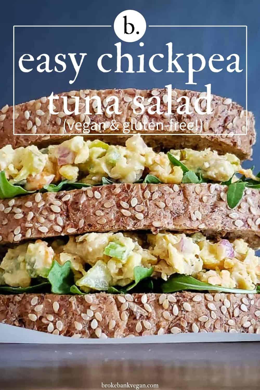Chickpea Tuna Salad