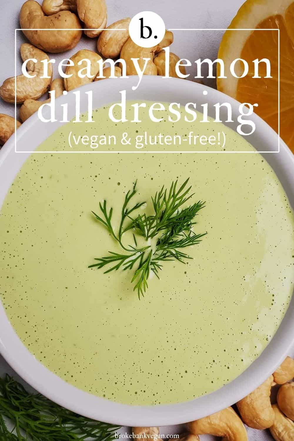 Creamy Lemon Dill Dressing