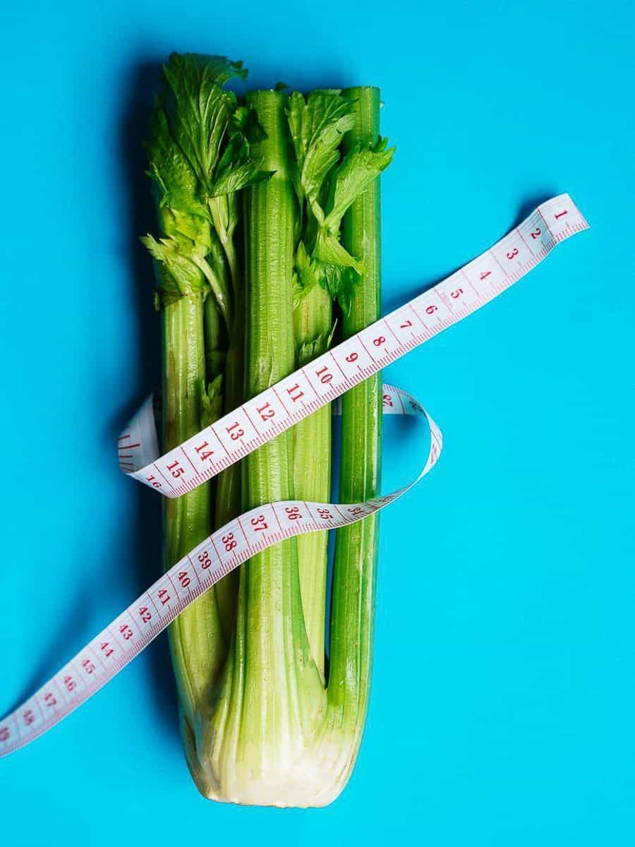 Celery and Tape Measure