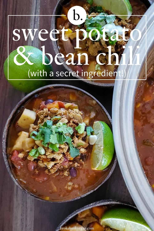 Sweet Potato Bean Chili