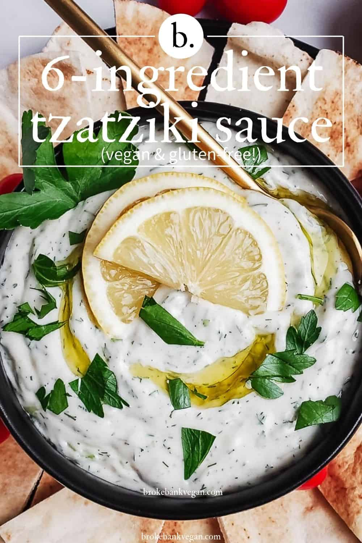 Creamy Vegan Tzatziki