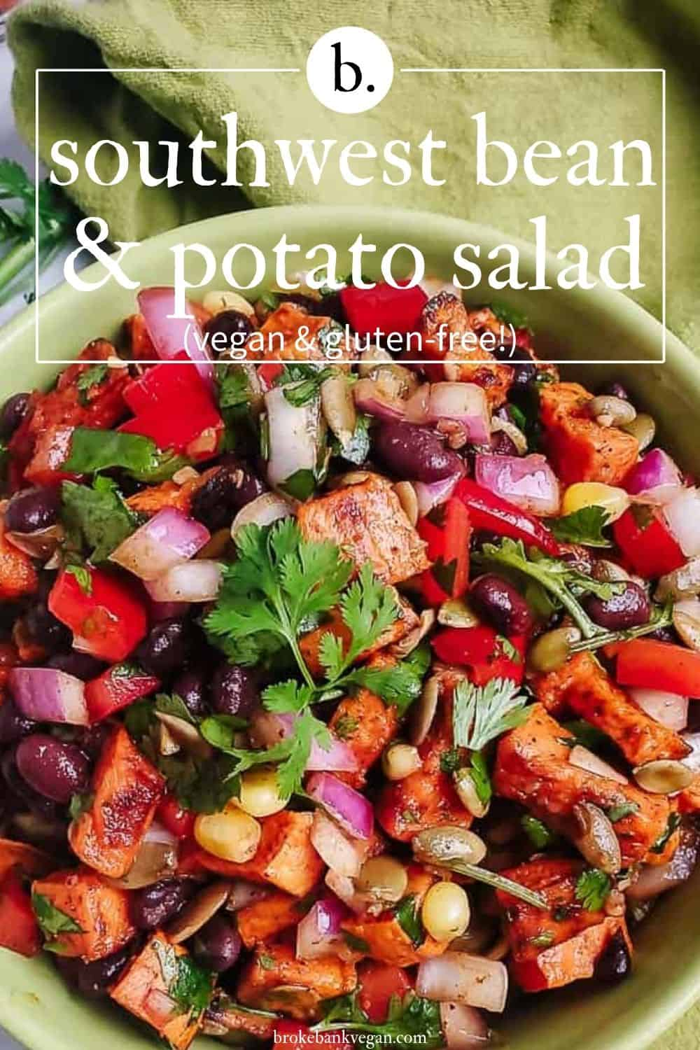 Southwest Sweet Potato Black Bean Salad