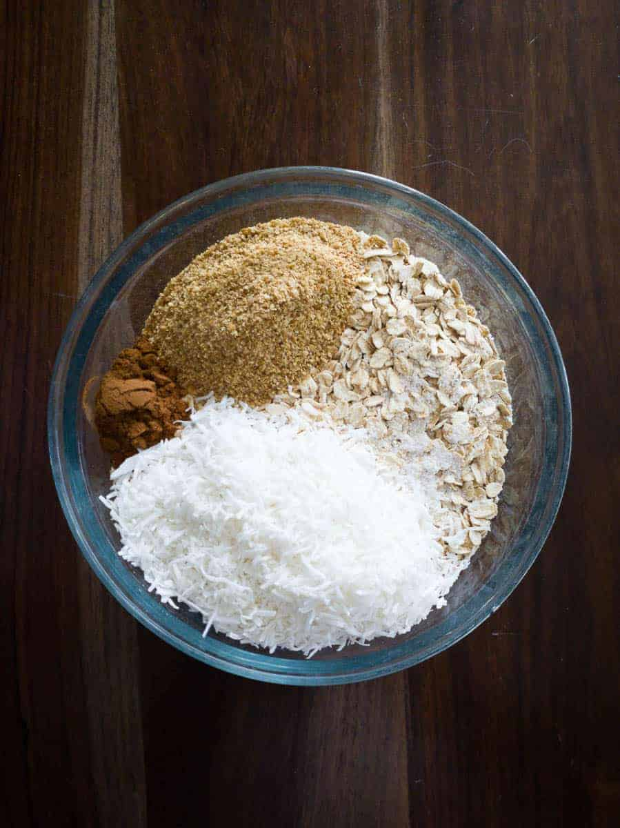 Dry Ingredients For Granola