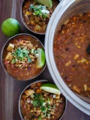 Sweet Potato & Bean Chili