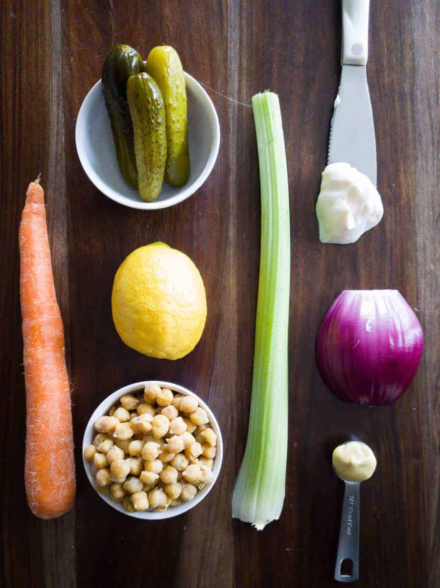 Chickpeas, Vegetables, And Sauce