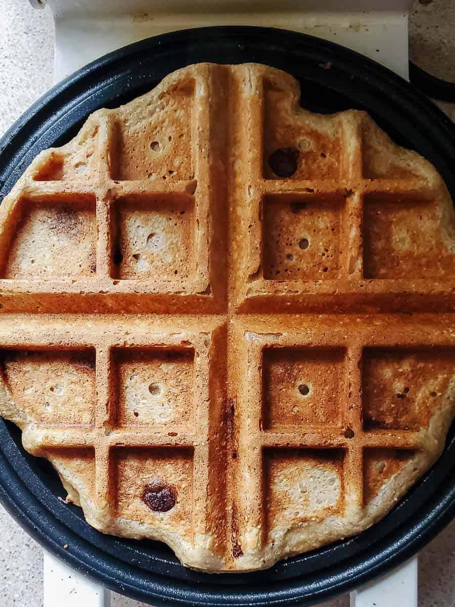 Waffle On An Iron