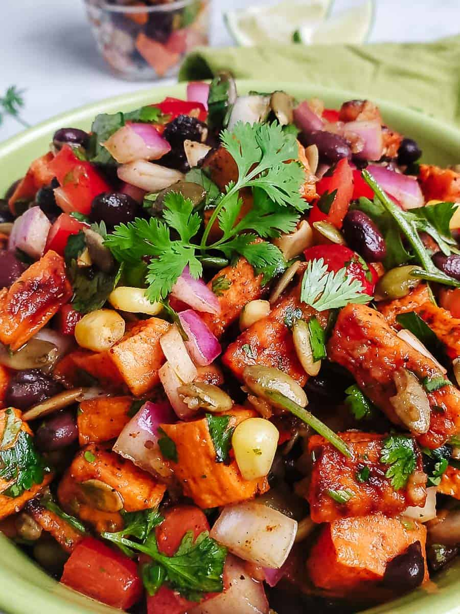 Southwest Black Bean & Sweet Potato Salad