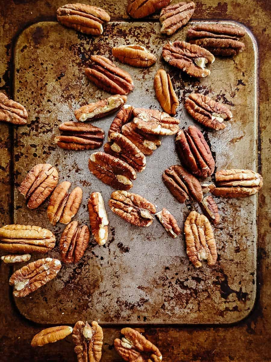 Pecans On A Pan