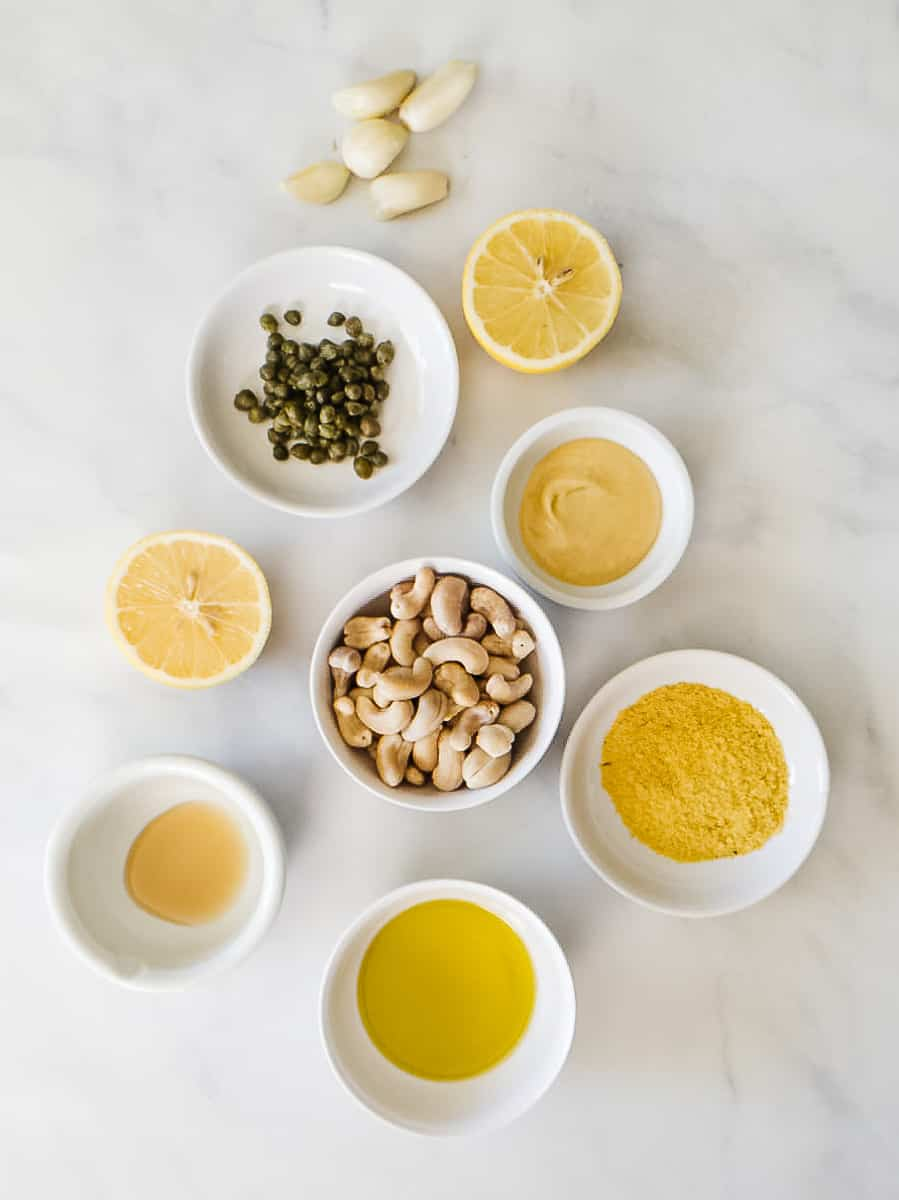 Vegan Caesar Dressing Ingredients