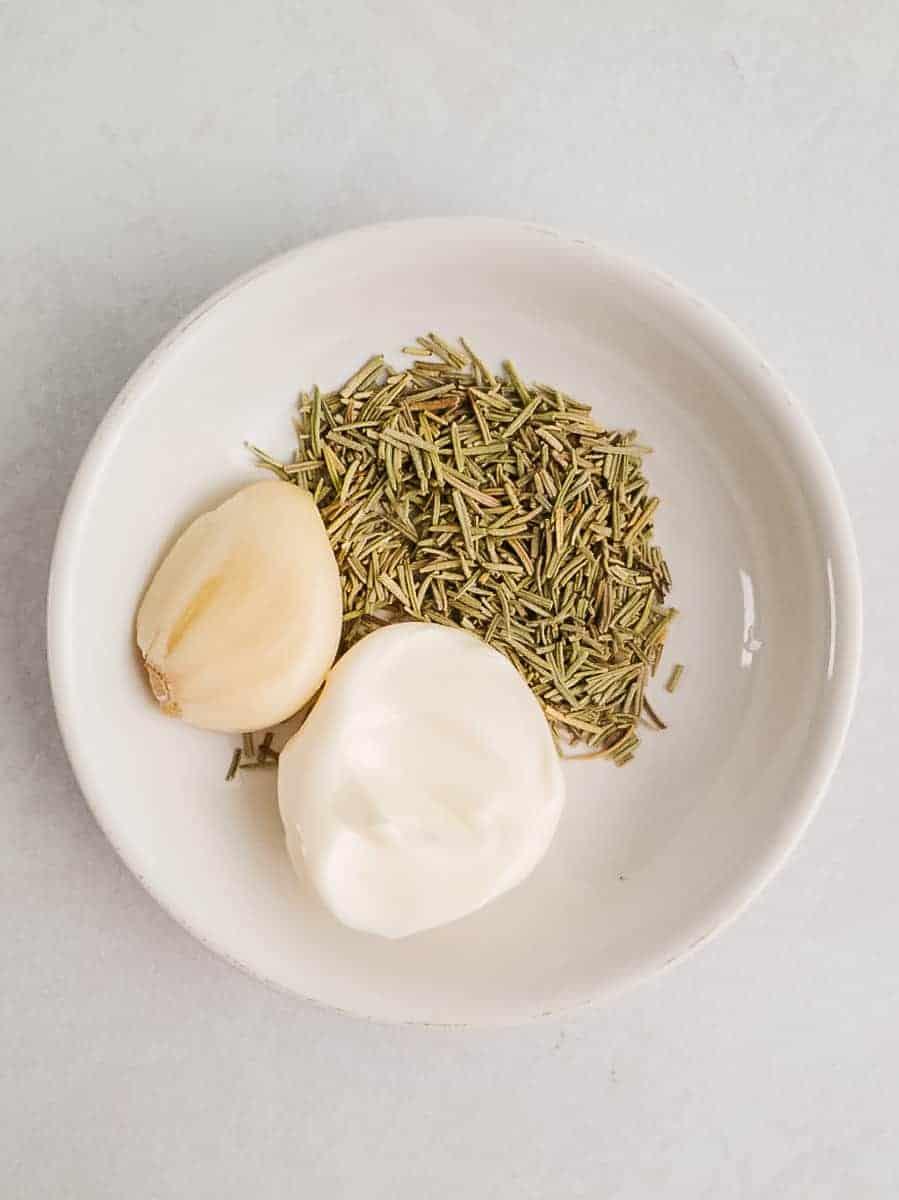 Mayo, Rosemary, & Garlic