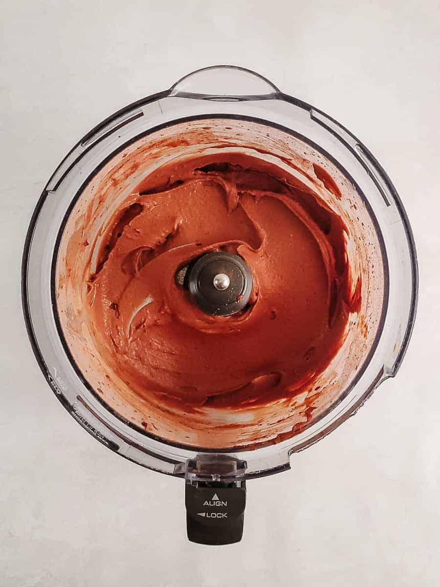Chocolate Peanut Butter Nice Cream In A Food Processor