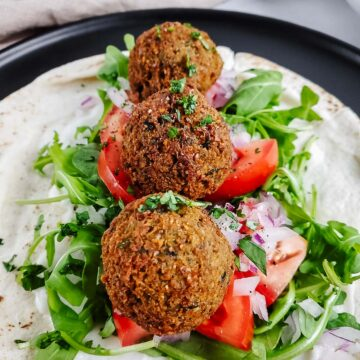 Authentic Homemade Falafel