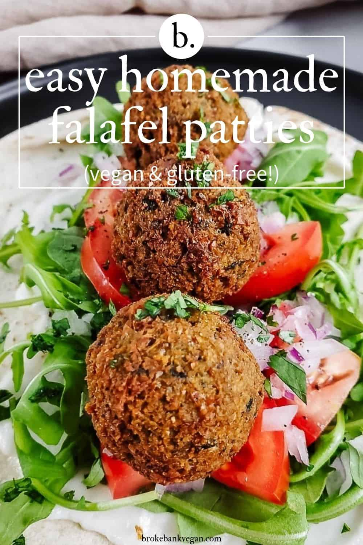 Easy Homemade Falafel Patties