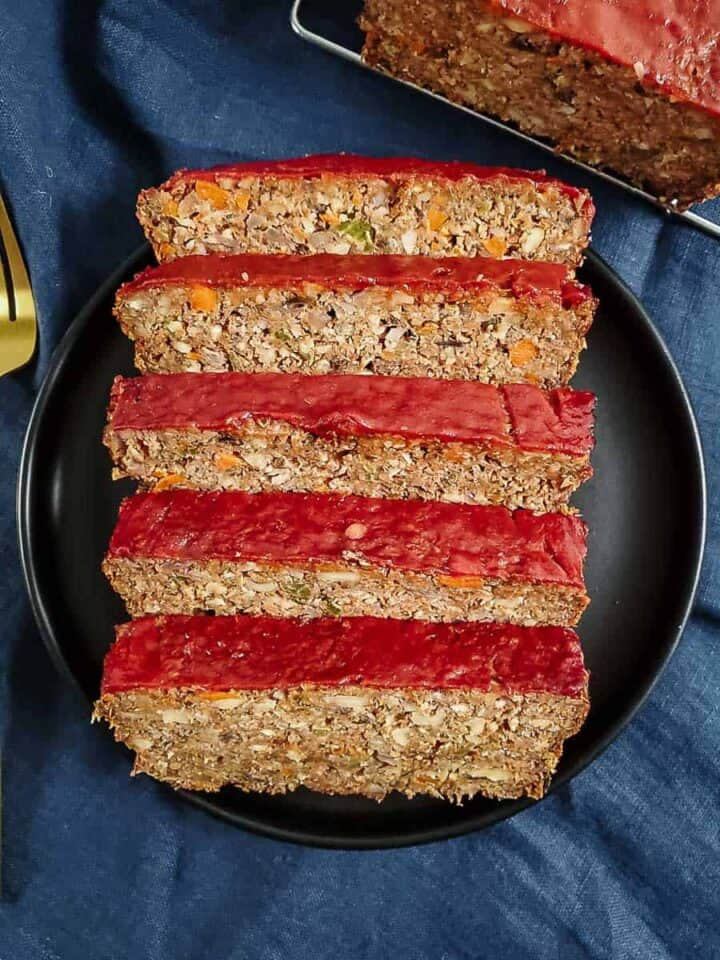 The Best Lentil Loaf