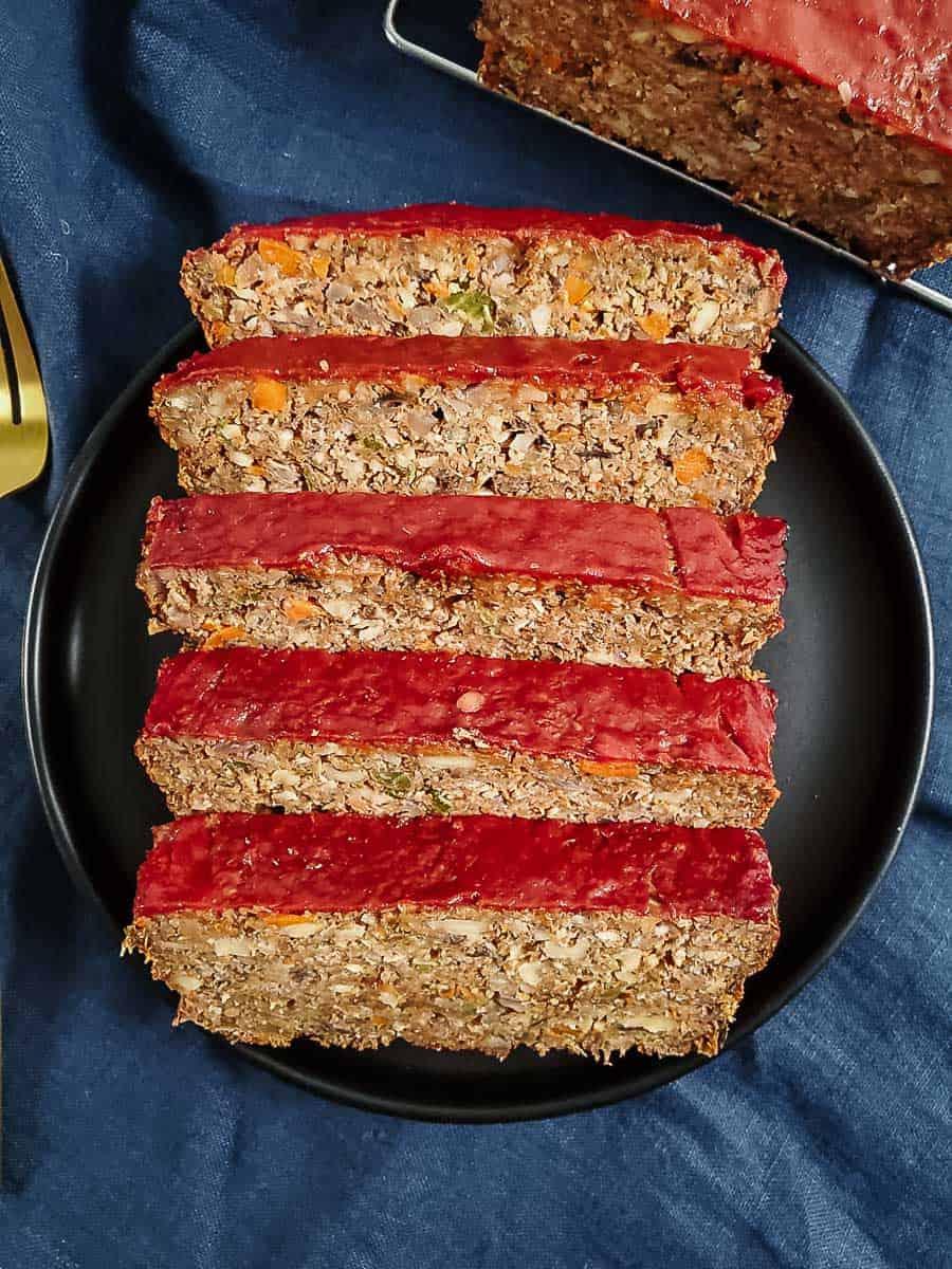 The Best Lentil Loaf