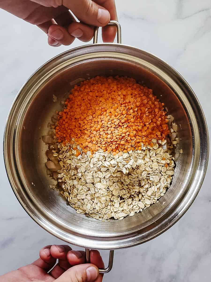 Red Lentils And Oats