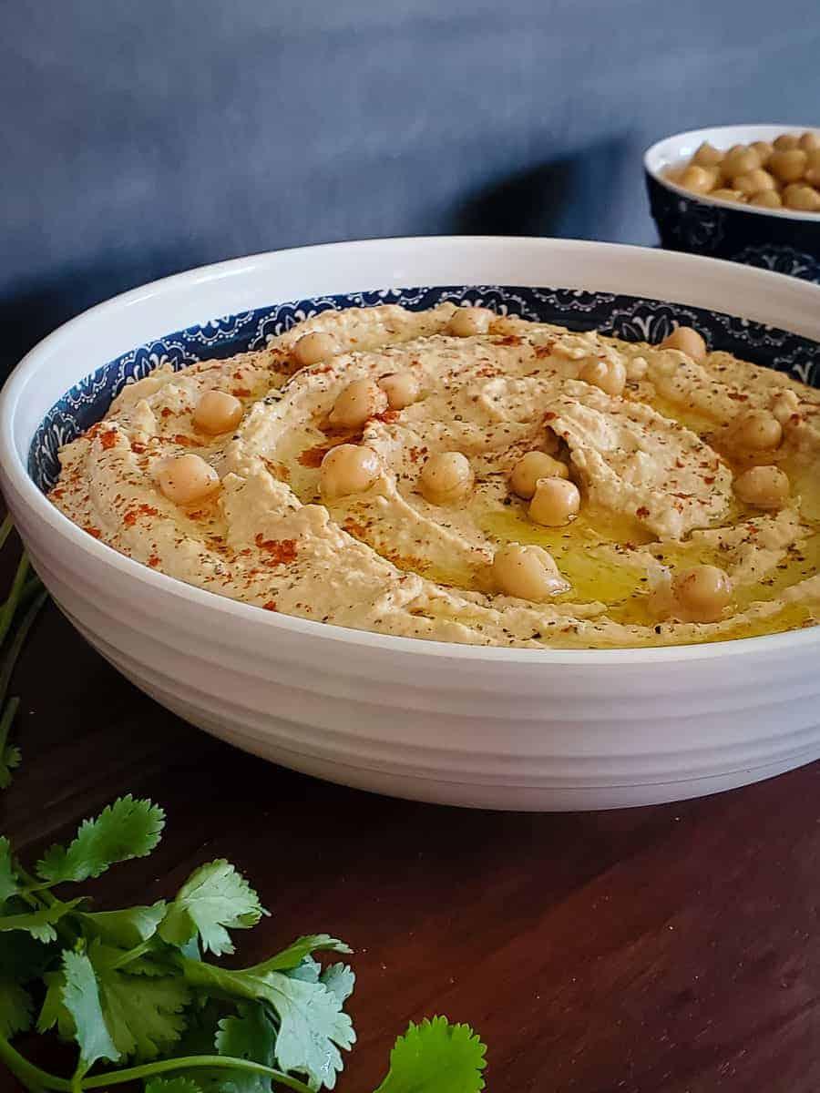 Creamy Moroccan Hummus