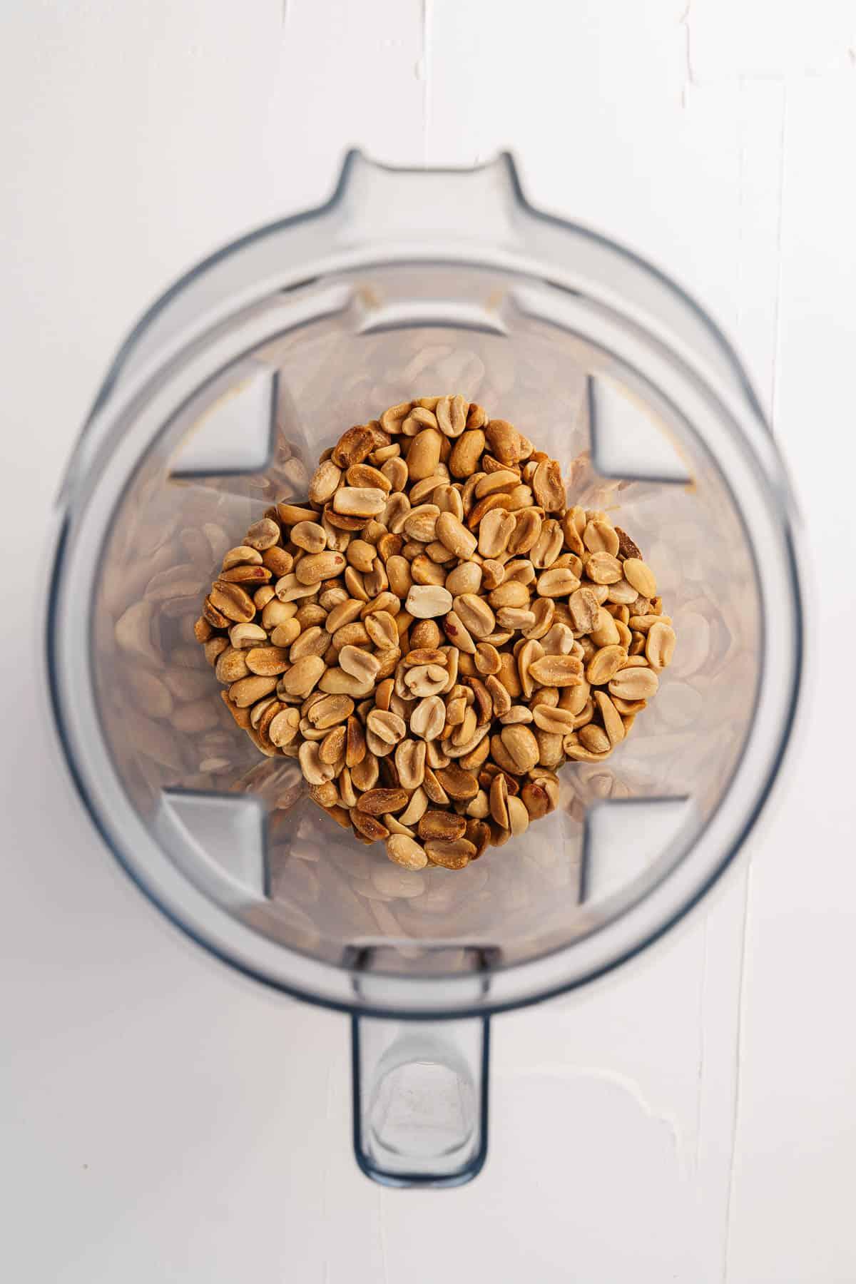 Peanuts in a Blender