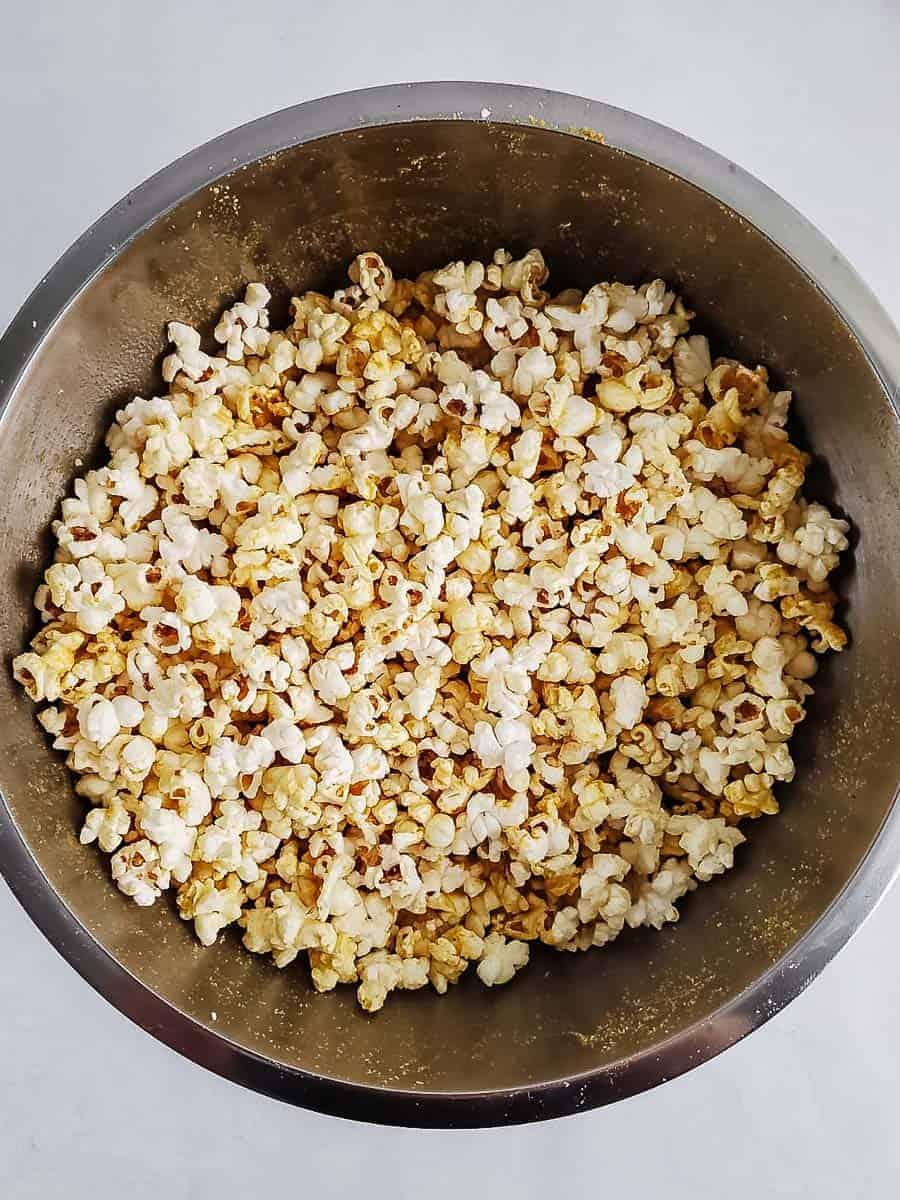Seasoned Popcorn In A Bowl