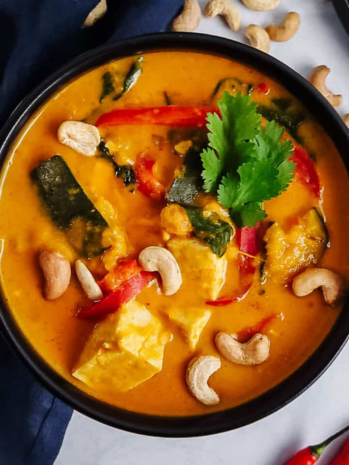 Thai Red Kabocha Squash Curry