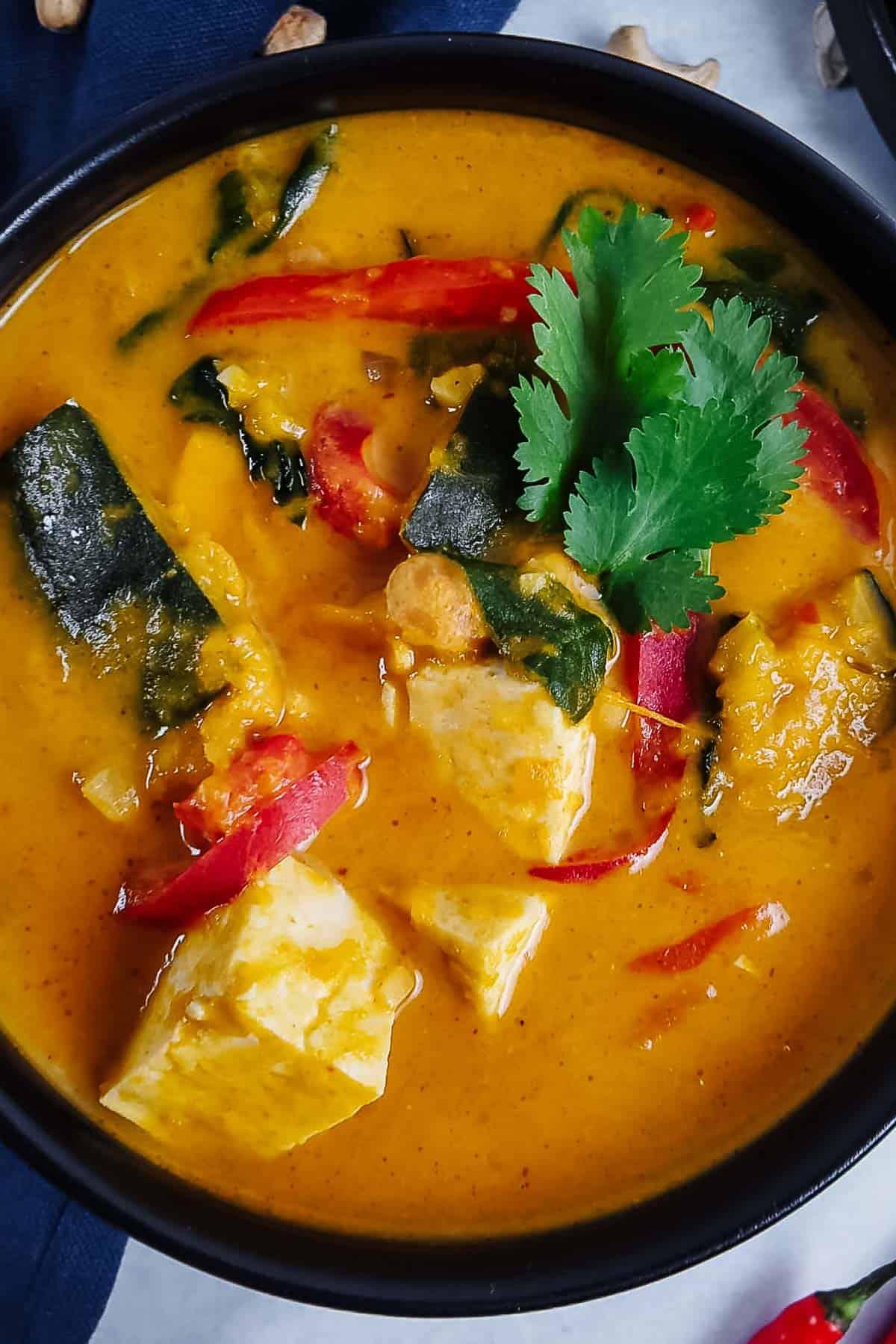 Thai Red Kabocha Squash Curry