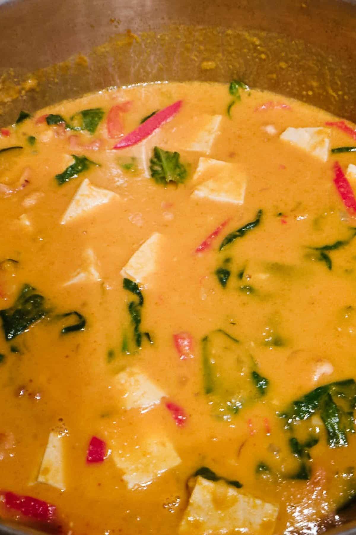Simmering Pumpkin Curry