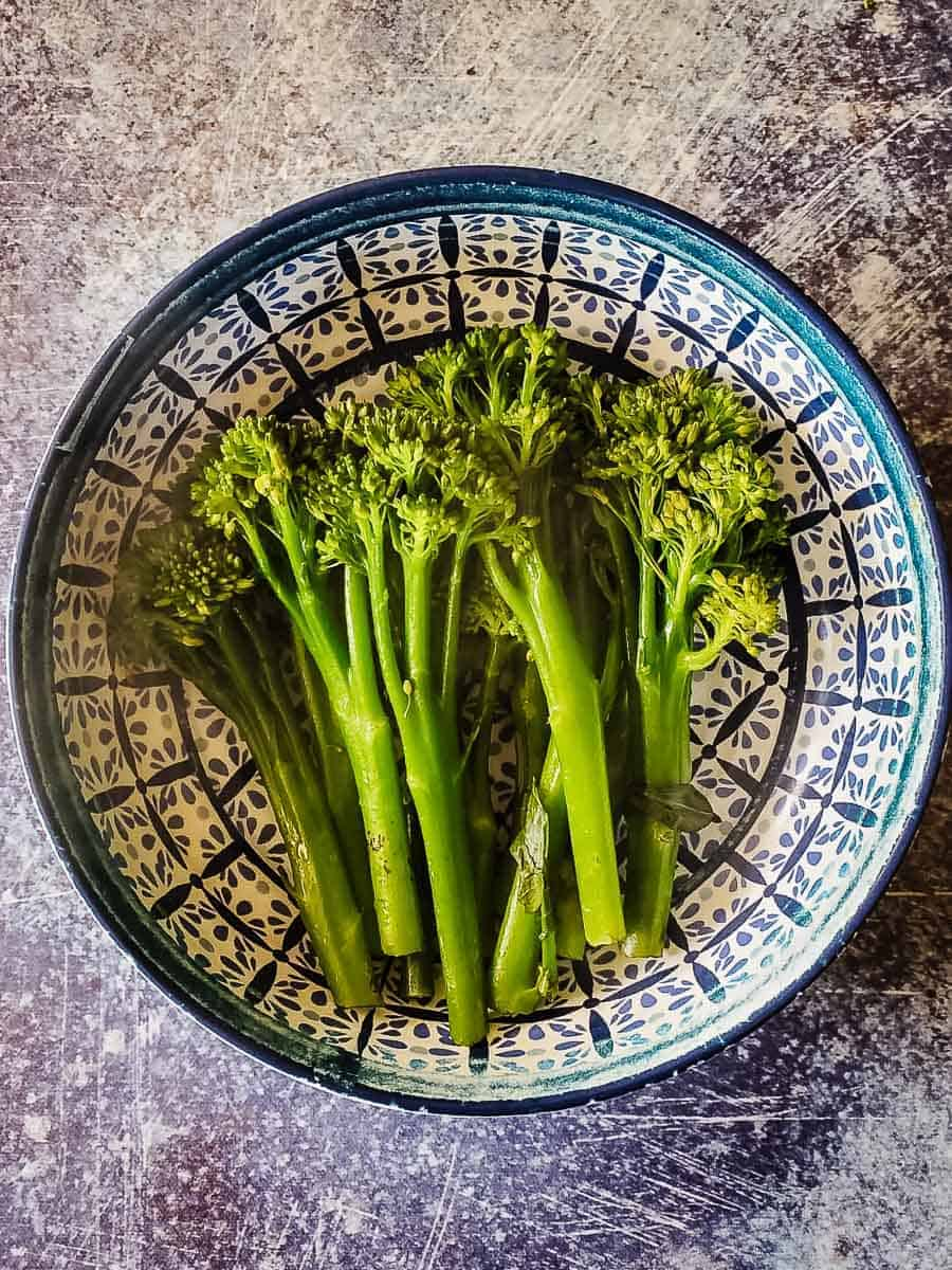 Steamed Broccolini