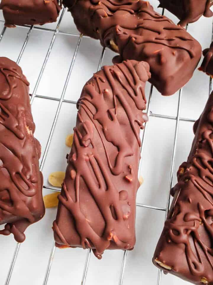 Vegan Snickers Bars