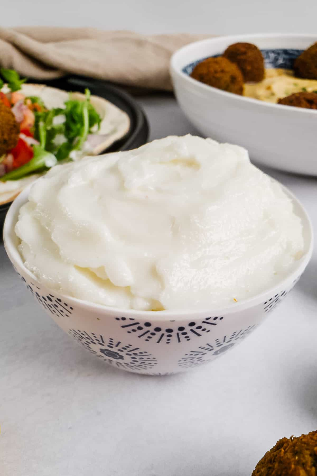 White Sauce in a Bowl