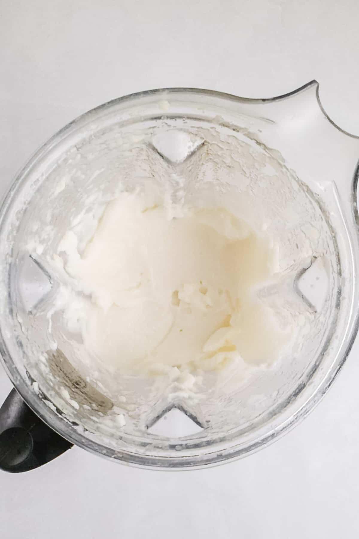 White Spread in a Blender