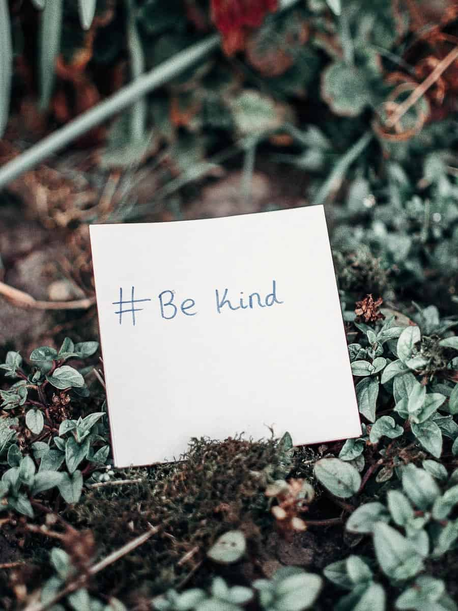 Be Kind Sticky Note