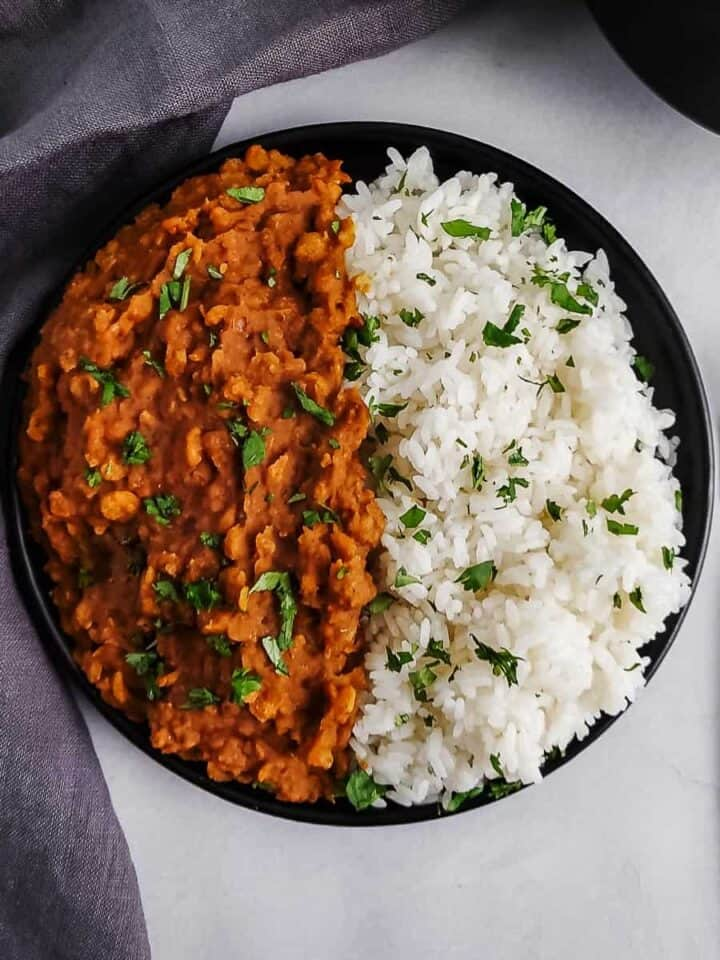 Indian-Style Split Pea Dal