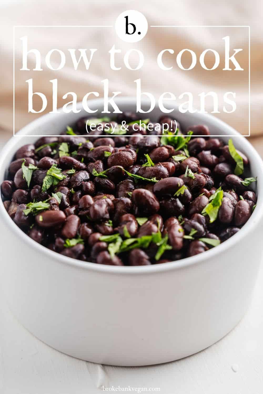 How to Make Black Beans
