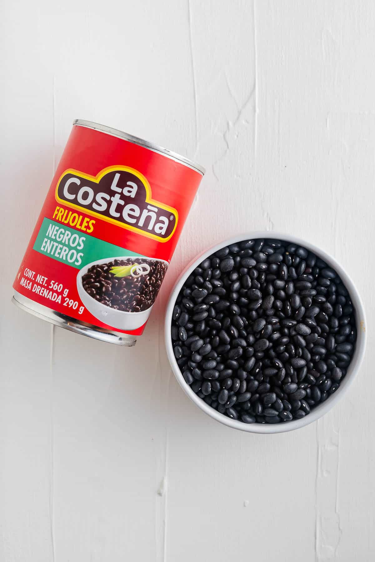 Dry Black Beans and Canned Black Beans
