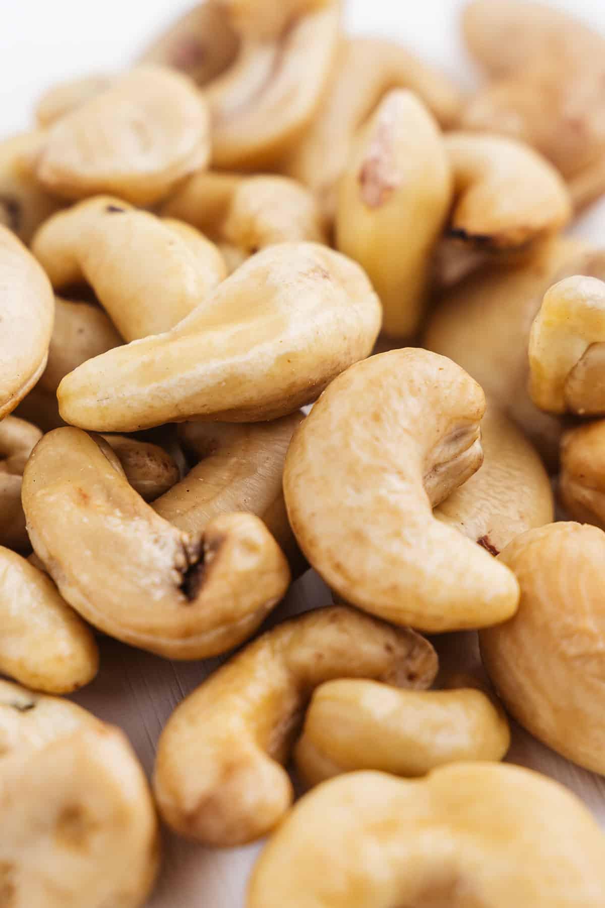 Close up of Cashews