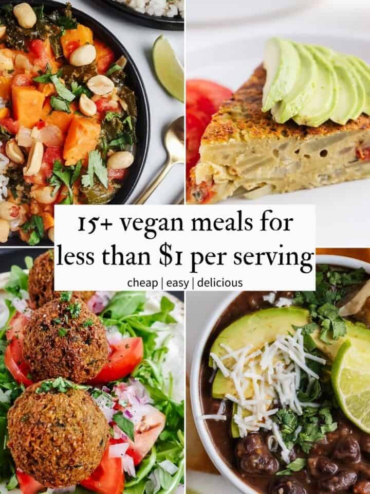 Vegan Meals for Less