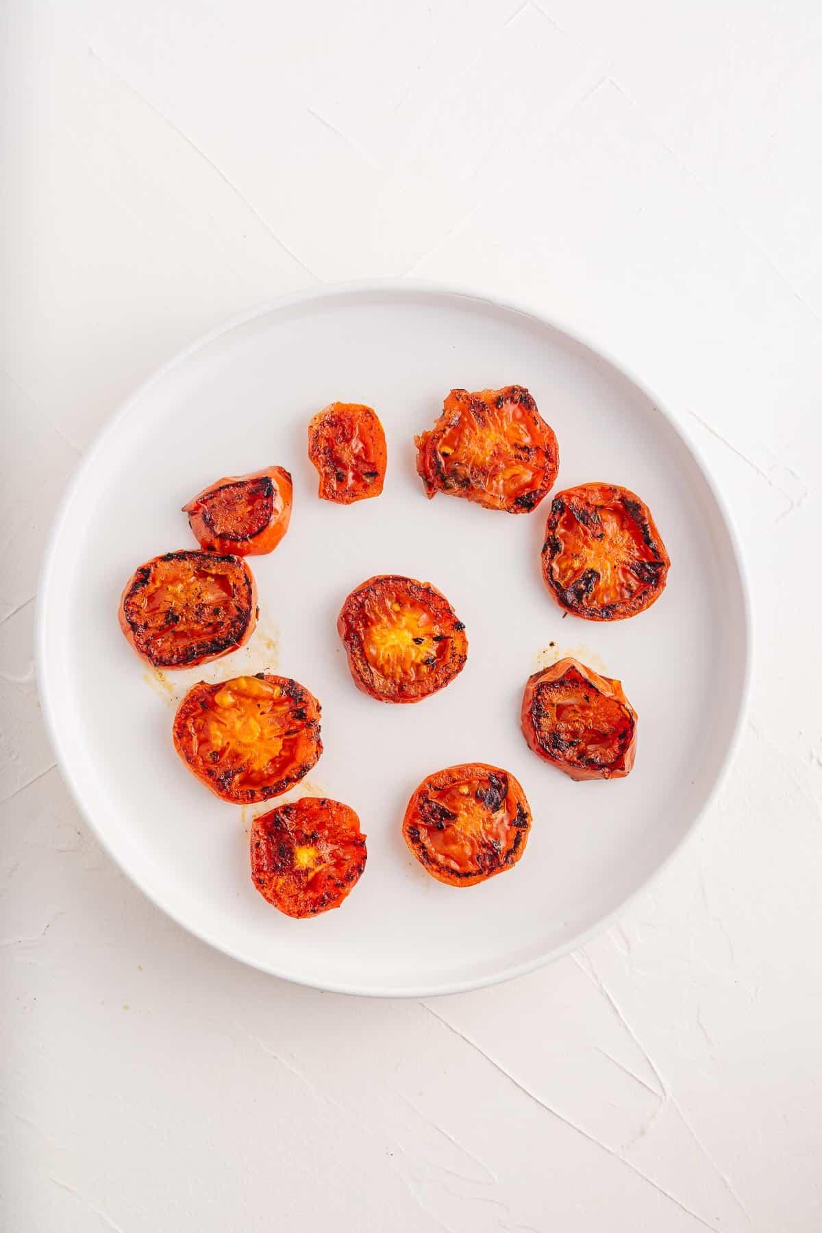 Fried Tomatoe Slices