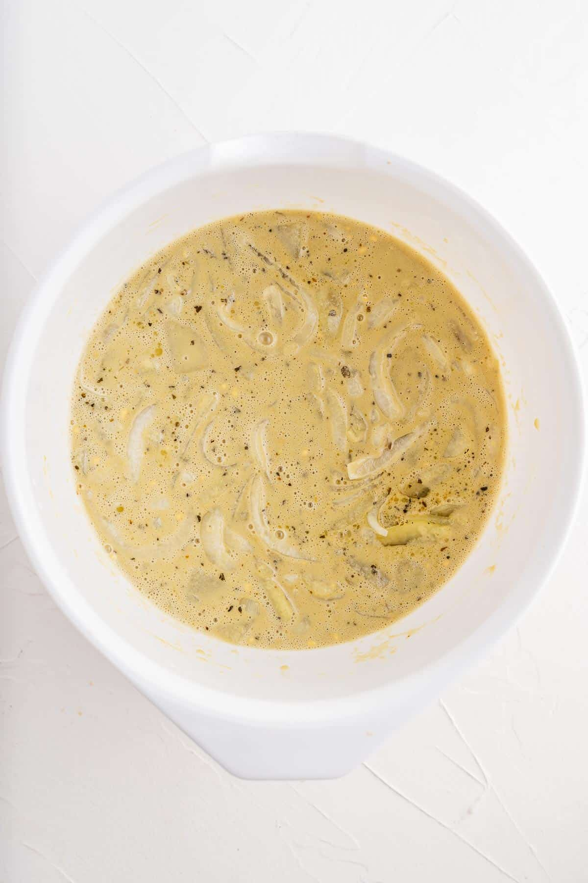 Chickpea, Potato, and Onion Batter