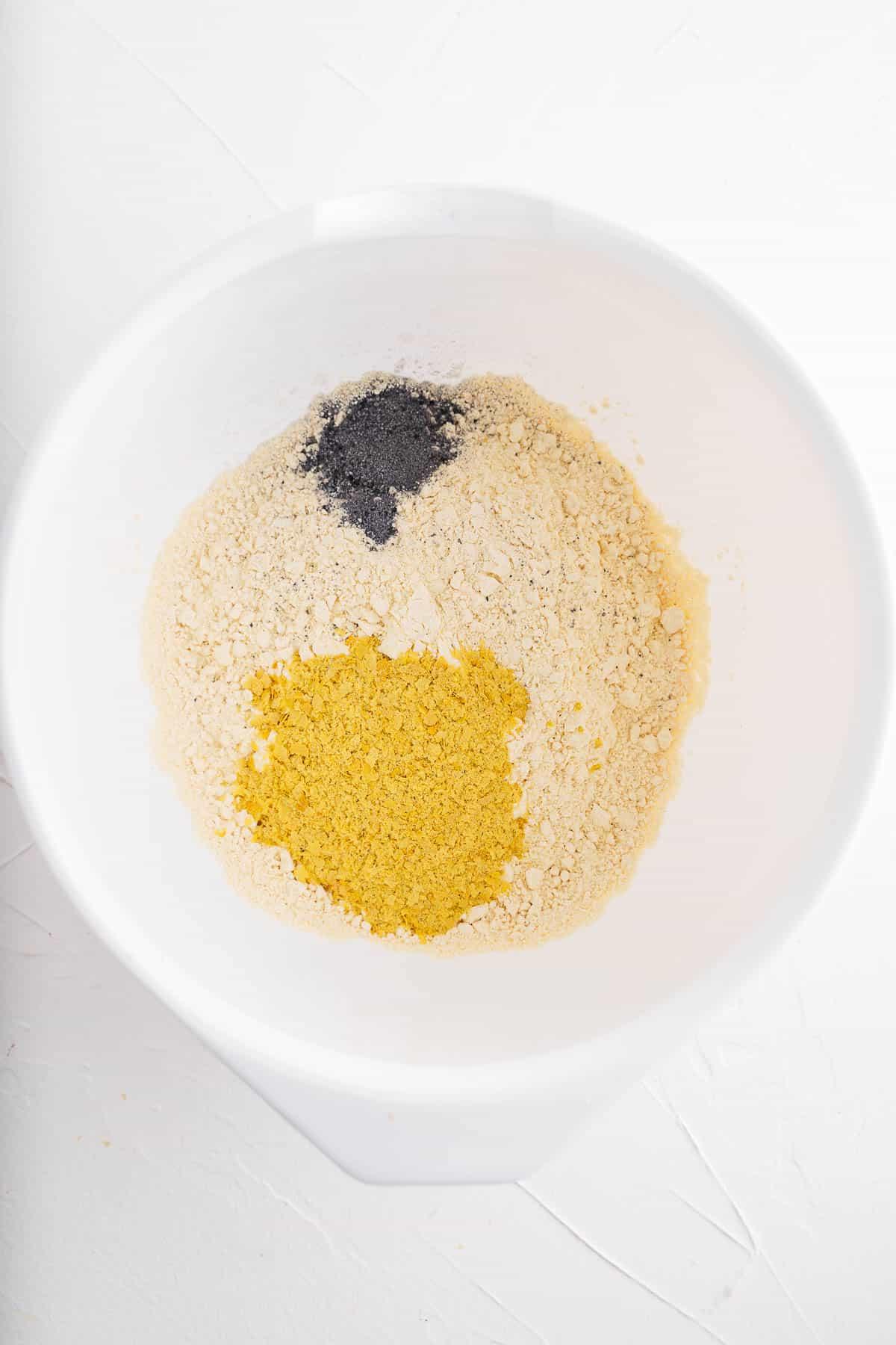 Chickpea Flour, Nutritional Yeast, Black Salt