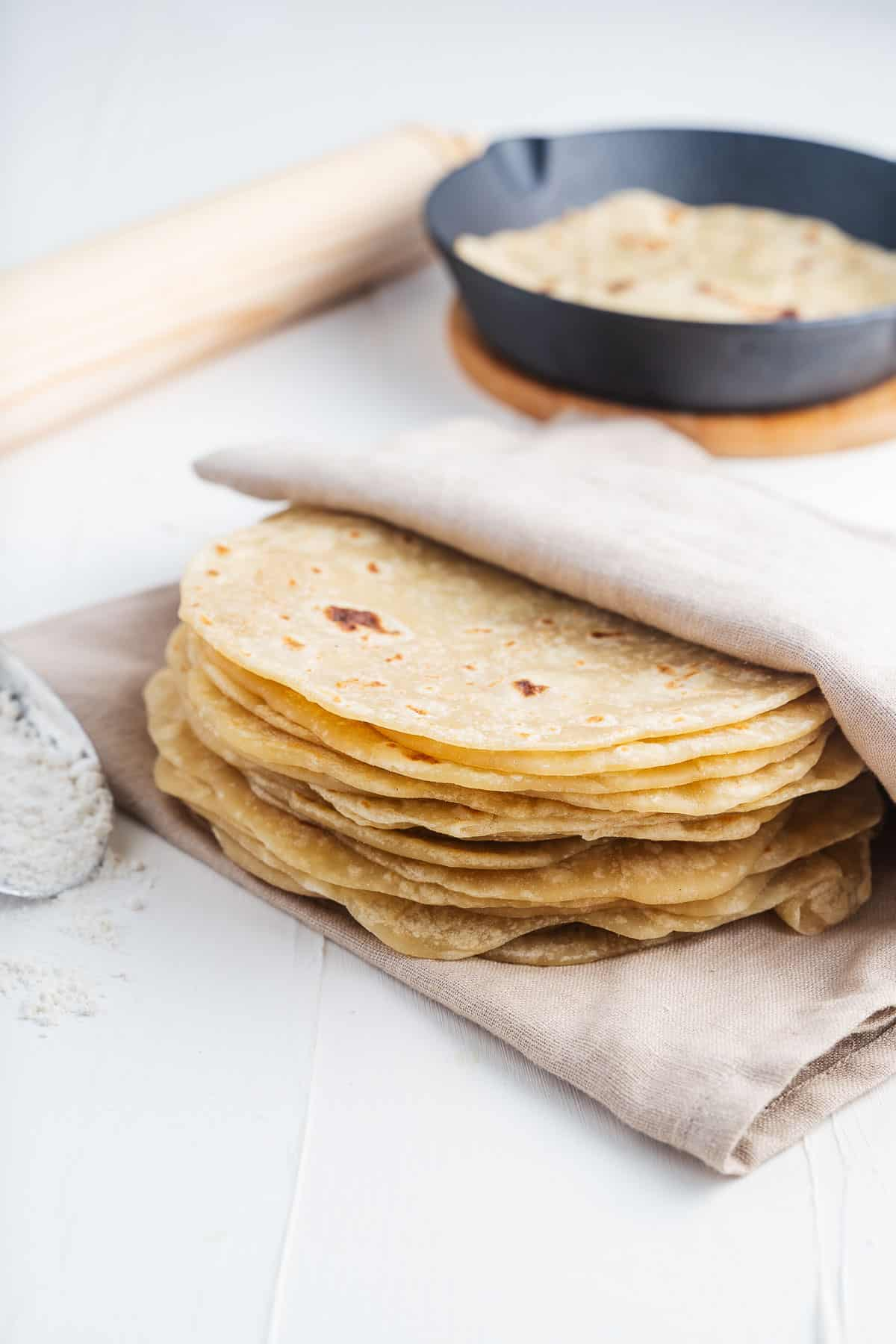 How To Make Flour Tortillas From Scratch Without Lard