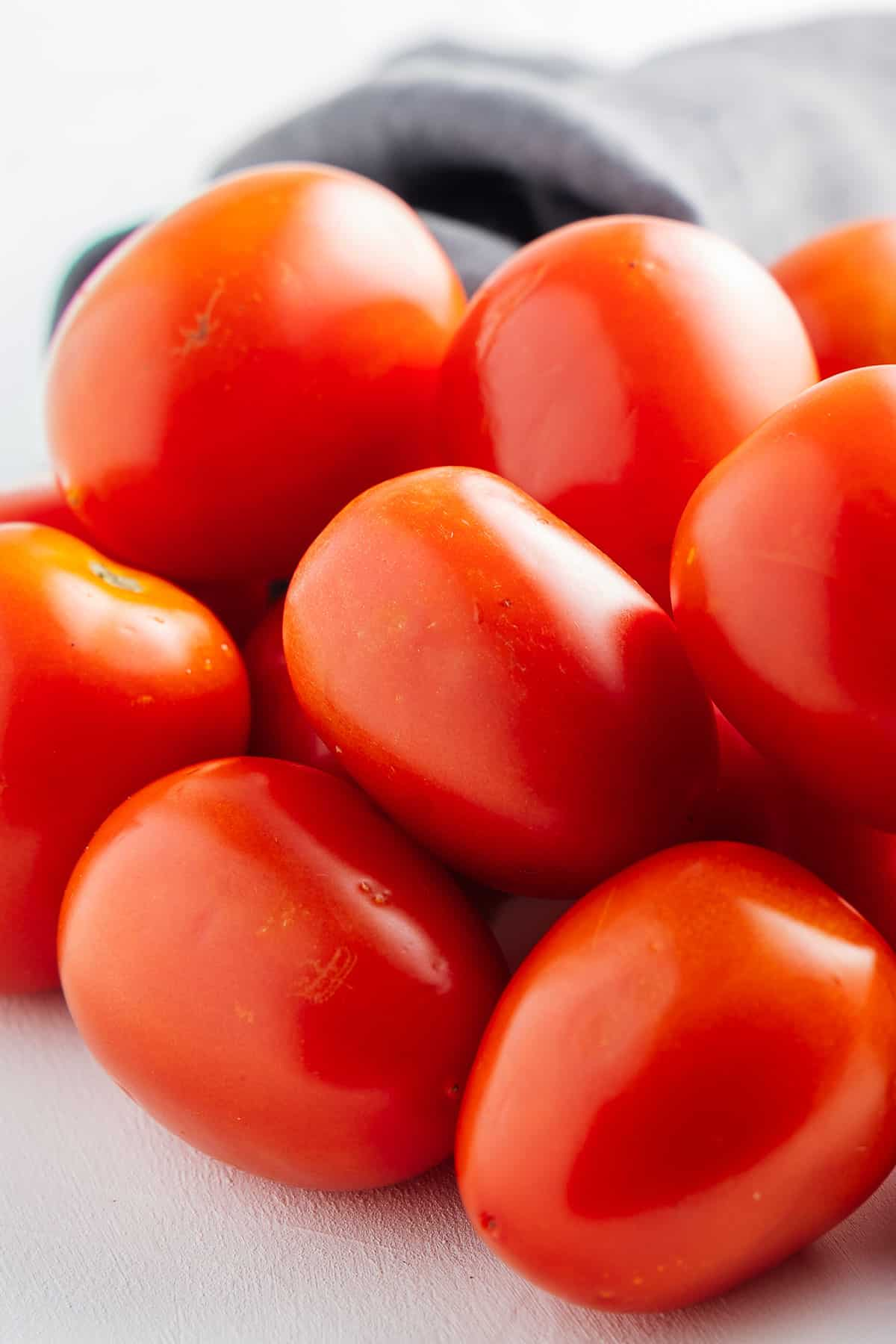Pile of Roma Tomatoes