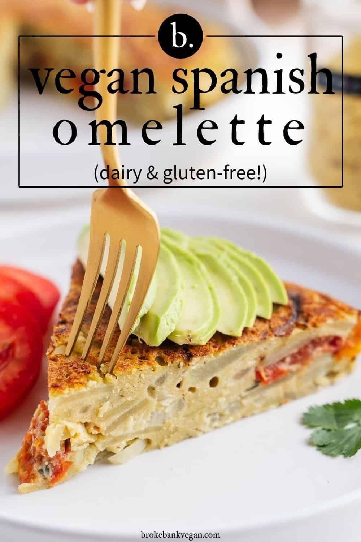 Vegan Spanish Omelette