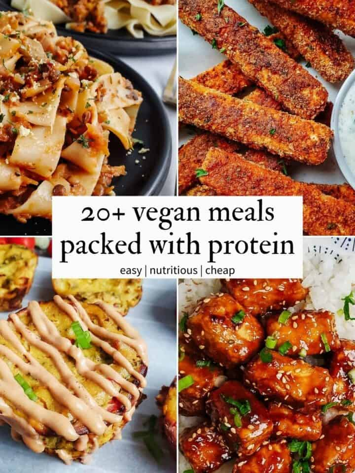 Vegan Meals Packed With Protein