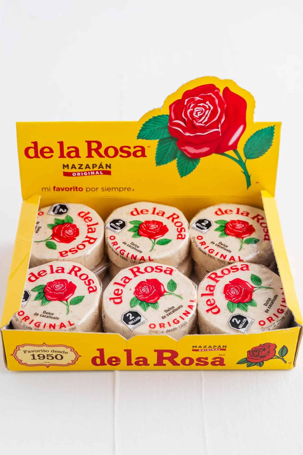 Box of de la Rosa Candy