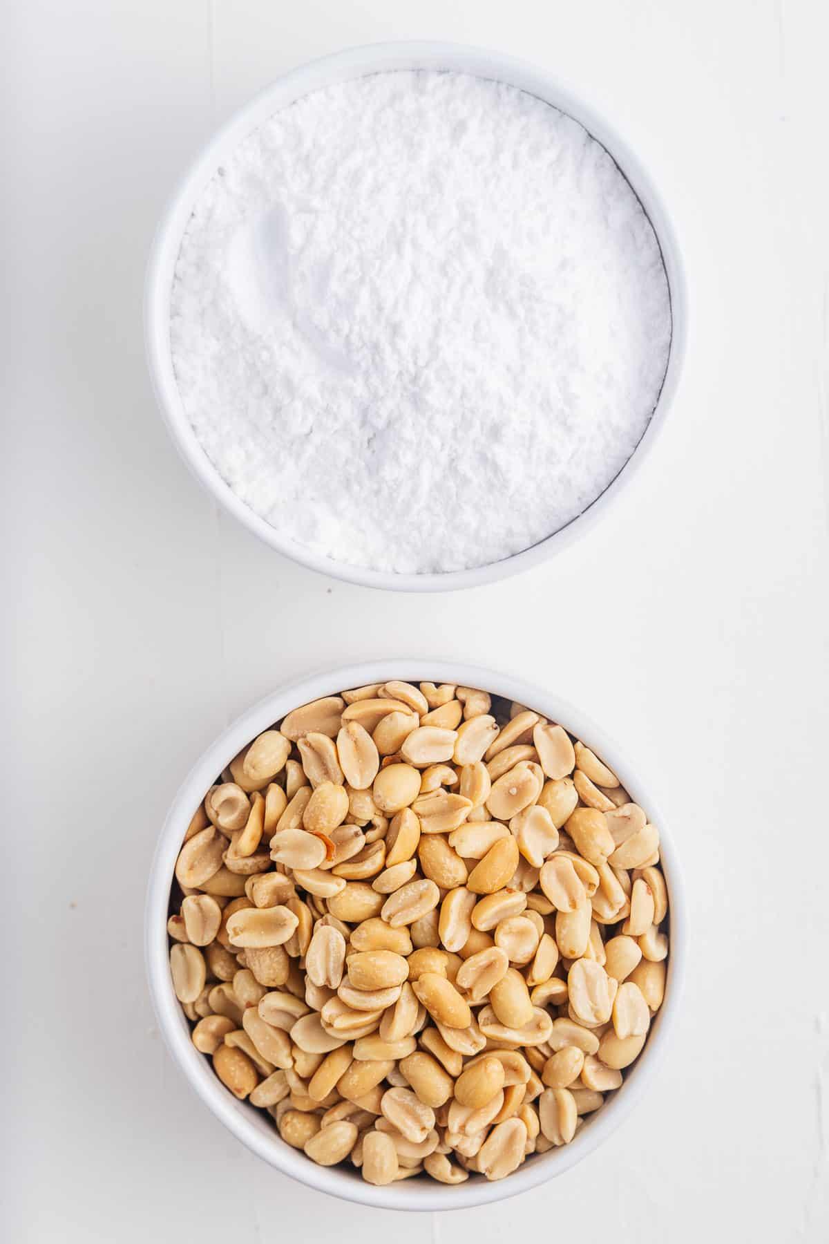 Peanuts and Powdered Sugar