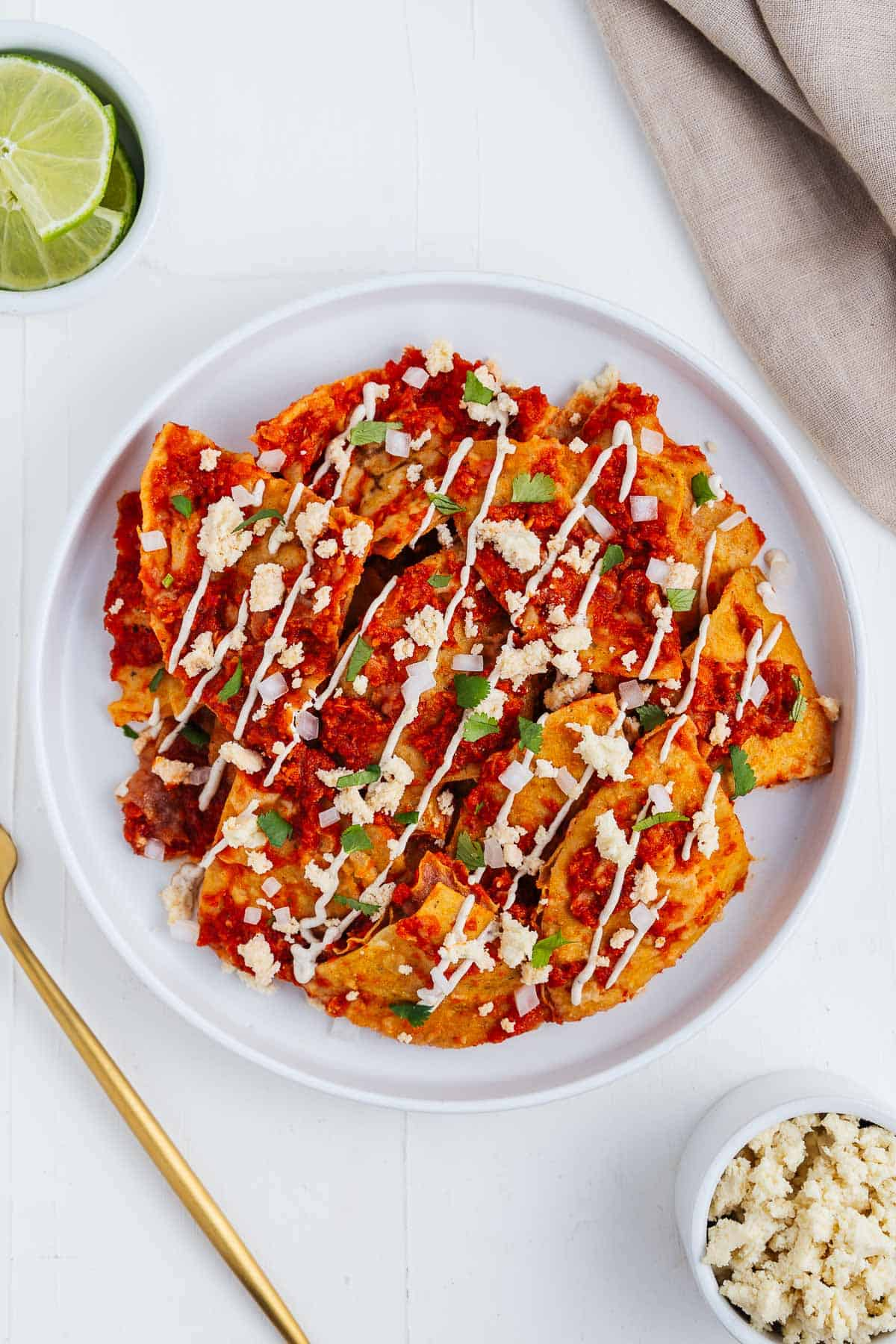 Chilaquiles Rojos Recipe