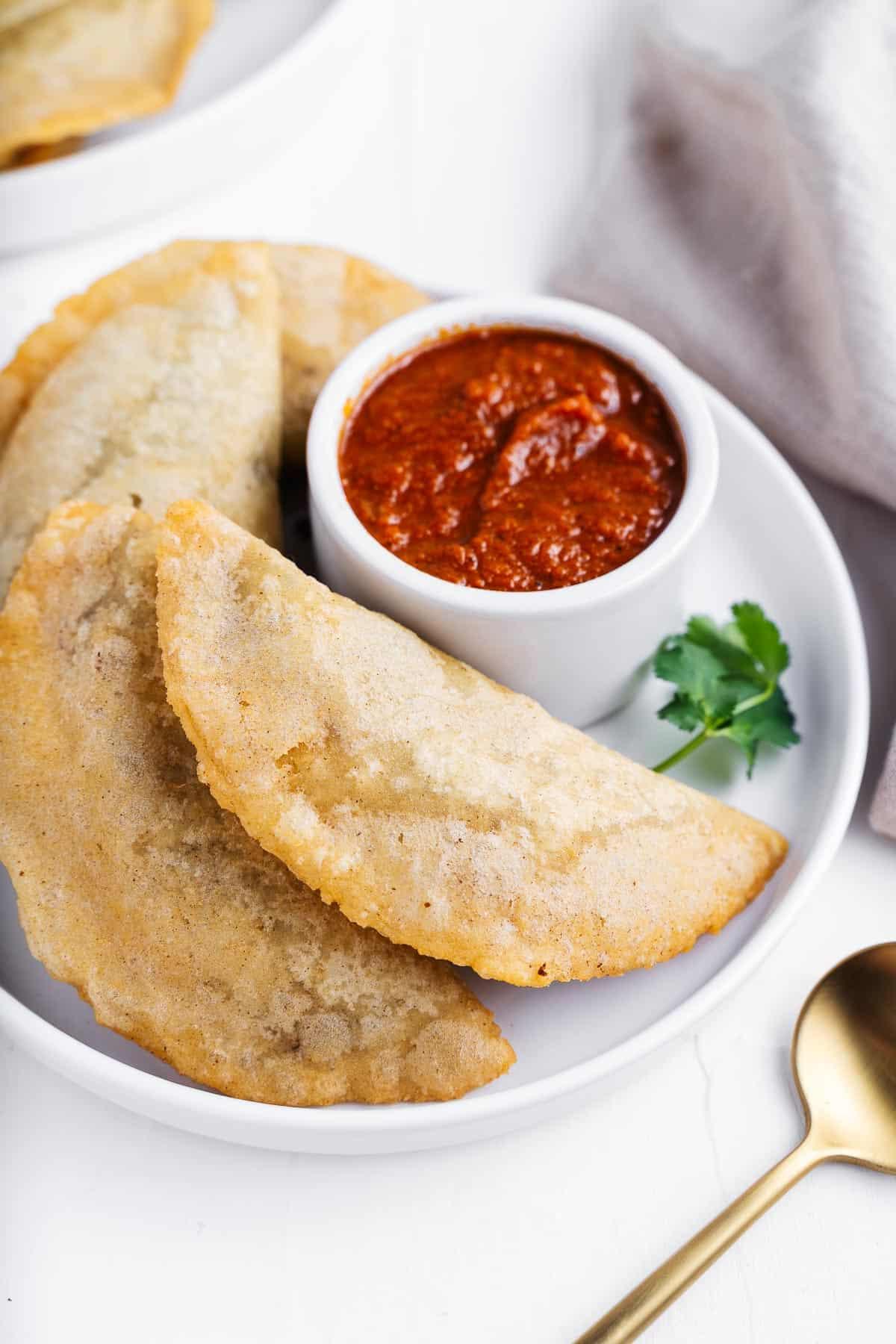 Easy Empanadas Recipe Made With Corn Dough