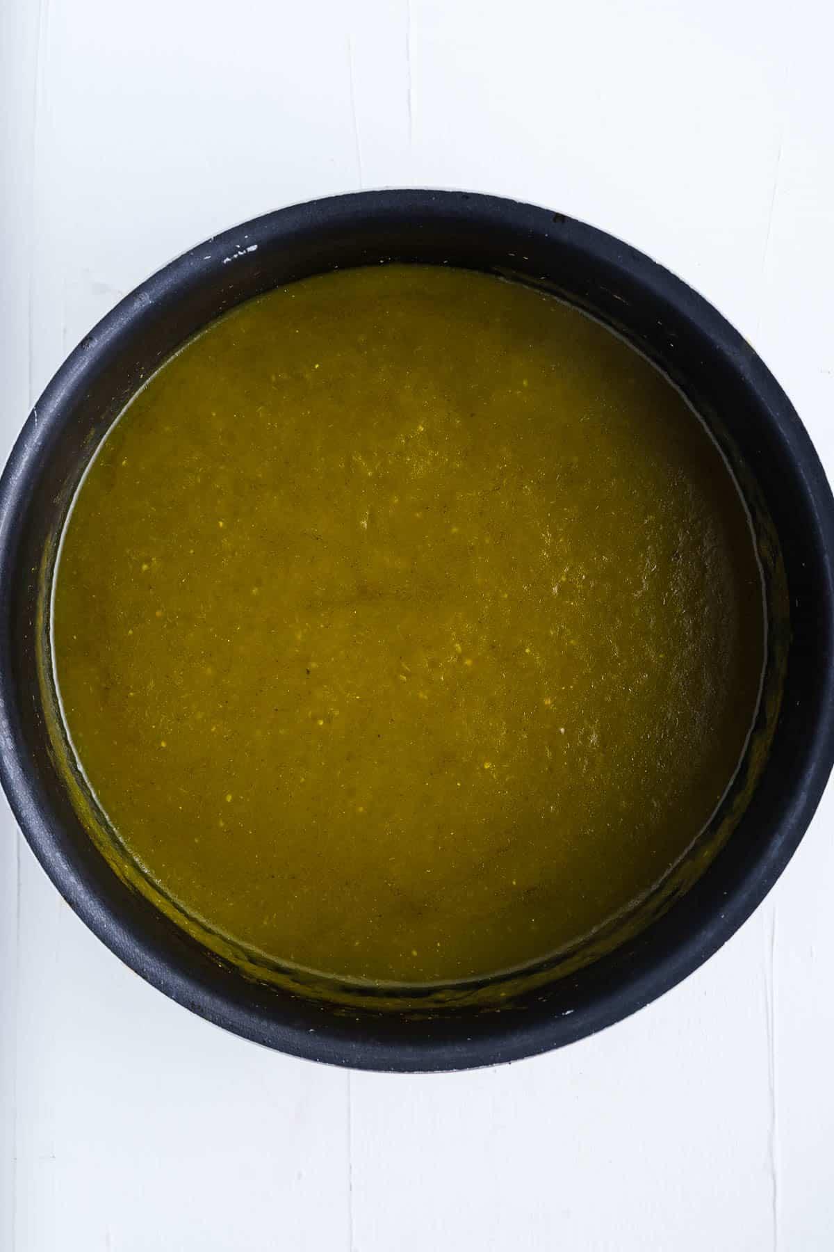 Enchiladas Verdes Sauce