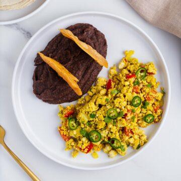 Vegan Huevos a la Mexicana