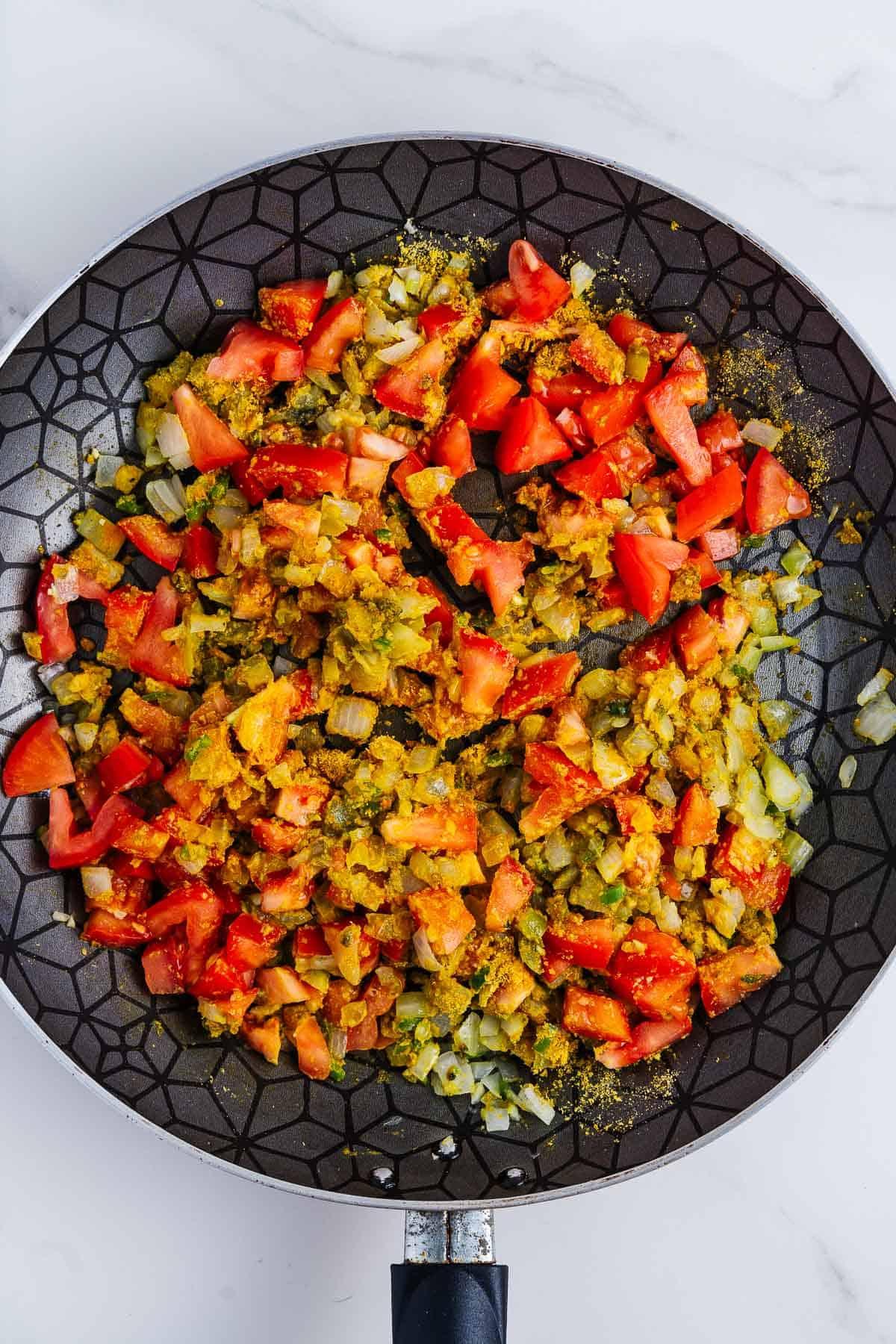 Sautéeing Vegetables and Seasonings